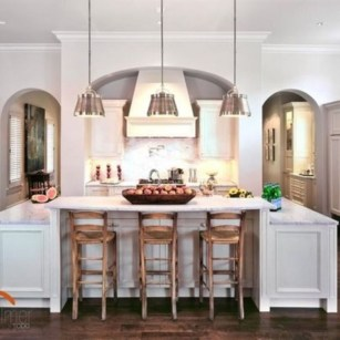 Fabulous Kitchen Island Decorating Ideas To Become A Comfortable Cooking Place For You25