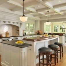 Fabulous Kitchen Island Decorating Ideas To Become A Comfortable Cooking Place For You31