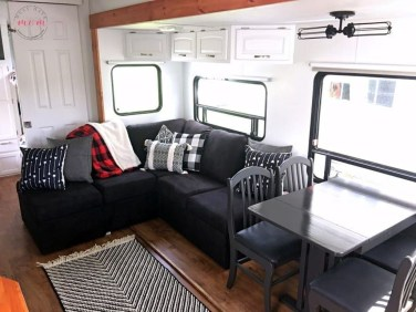 Gorgeous Rv Living Decoration For A Cozy Camping Ideas21