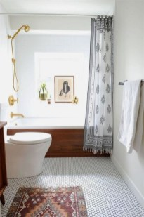 How To Decorate Your Small Bathroom Become More Comfortable And Beautiful18