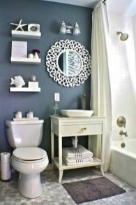 How To Decorate Your Small Bathroom Become More Comfortable And Beautiful31