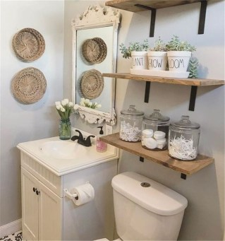 How To Decorate Your Small Bathroom Become More Comfortable And Beautiful50