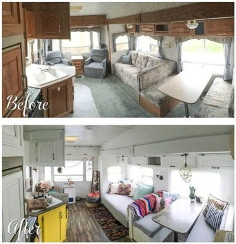 Super Creative Diy Rv Renovation Hacks Makeover39