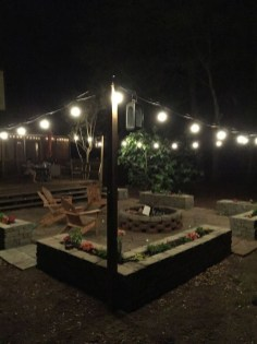 Amazing Backyard Decoration Ideas For Comfortable Your Outdoor08