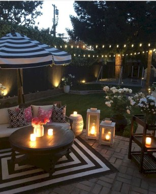 Amazing Backyard Decoration Ideas For Comfortable Your Outdoor16