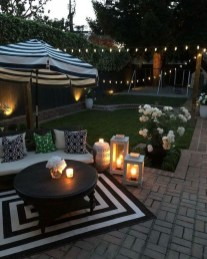 Amazing Backyard Decoration Ideas For Comfortable Your Outdoor21