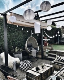 Amazing Backyard Decoration Ideas For Comfortable Your Outdoor23