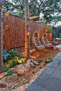 Amazing Backyard Decoration Ideas For Comfortable Your Outdoor24