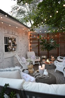 Amazing Backyard Decoration Ideas For Comfortable Your Outdoor26