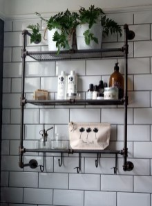 Amazing Industrial Bathroom Decorating Ideas For Your Inspiration02