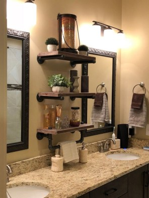 Amazing Industrial Bathroom Decorating Ideas For Your Inspiration15