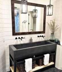 Amazing Industrial Bathroom Decorating Ideas For Your Inspiration29