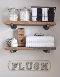 Amazing Industrial Bathroom Decorating Ideas For Your Inspiration32
