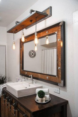 Amazing Industrial Bathroom Decorating Ideas For Your Inspiration42