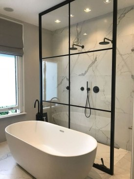 Amazing Industrial Bathroom Decorating Ideas For Your Inspiration43