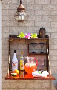 Awesome Outdoor Mini Bar Design Ideas You Must Have For Small Party04
