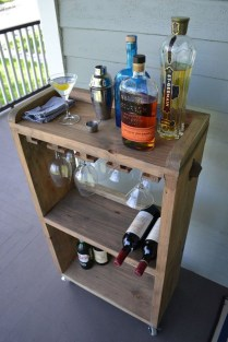 Awesome Outdoor Mini Bar Design Ideas You Must Have For Small Party39