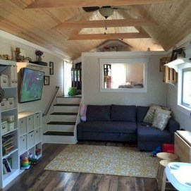 Awesome Tiny House Design Ideas For Your Family13