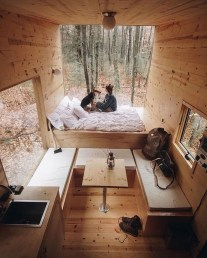 Awesome Tiny House Design Ideas For Your Family22
