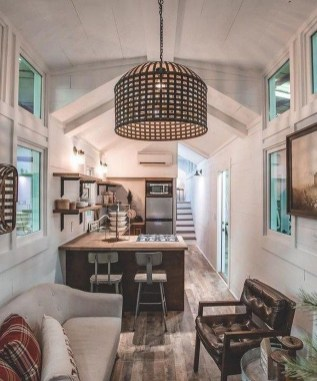 Awesome Tiny House Design Ideas For Your Family26