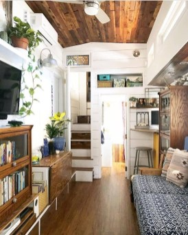 Awesome Tiny House Design Ideas For Your Family35