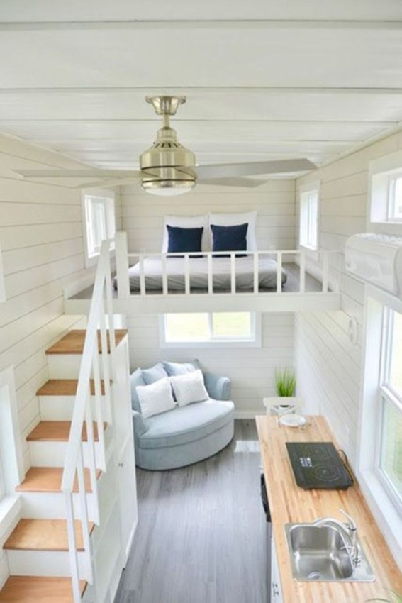 Awesome Tiny House Design Ideas For Your Family49