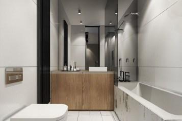 Beautiful Minimalist Bathroom Design Ideas For Your Home23