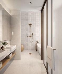 Beautiful Minimalist Bathroom Design Ideas For Your Home30