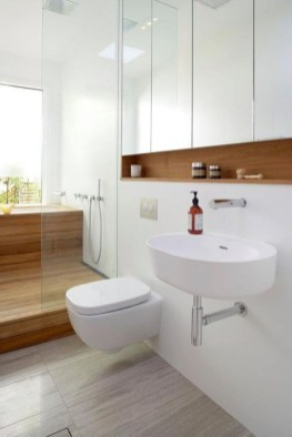 Beautiful Minimalist Bathroom Design Ideas For Your Home36