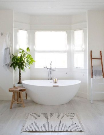 Beautiful Minimalist Bathroom Design Ideas For Your Home38