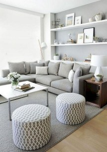 Beautiful Sofa Ideas For Your Small Living Room35