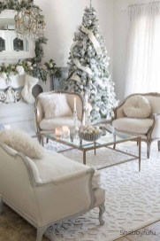 Best Christmas Living Room Decoration Ideas For Your Home38