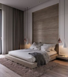 Chic And Warm Minimalist Bedroom Interior Ideas For Feel Comfort05