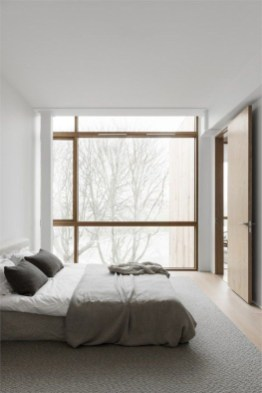 Chic And Warm Minimalist Bedroom Interior Ideas For Feel Comfort07