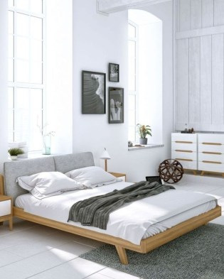 Chic And Warm Minimalist Bedroom Interior Ideas For Feel Comfort09