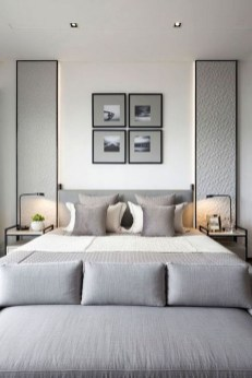 Chic And Warm Minimalist Bedroom Interior Ideas For Feel Comfort26
