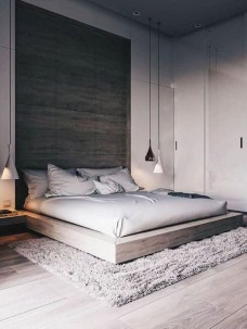 Chic And Warm Minimalist Bedroom Interior Ideas For Feel Comfort28