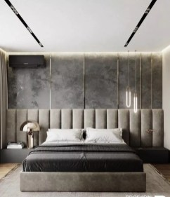 Chic And Warm Minimalist Bedroom Interior Ideas For Feel Comfort31