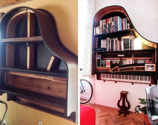 Creative Ideas To Change Old And Unused Items Into Beautiful Furniture17
