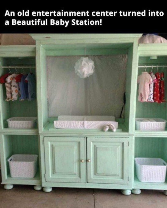 Creative Ideas To Change Old And Unused Items Into Beautiful Furniture44