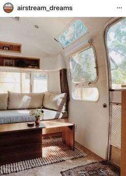 Elegant Airstream Decorating Ideas For Comfortable Holidays Trip17