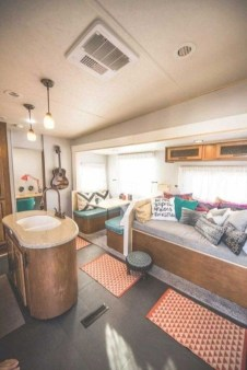Elegant Airstream Decorating Ideas For Comfortable Holidays Trip25