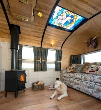 Elegant Airstream Decorating Ideas For Comfortable Holidays Trip34