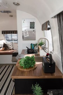 Elegant Airstream Decorating Ideas For Comfortable Holidays Trip40