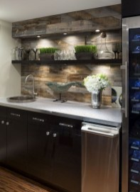 Gorgeous Minibar Designs Ideas For Your Kitchen10