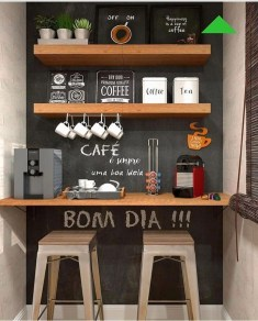 Gorgeous Minibar Designs Ideas For Your Kitchen11