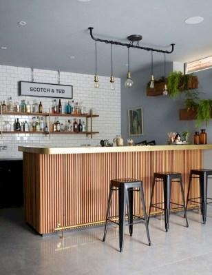 Gorgeous Minibar Designs Ideas For Your Kitchen33