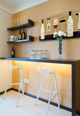 Gorgeous Minibar Designs Ideas For Your Kitchen35