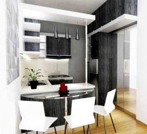 Gorgeous Minibar Designs Ideas For Your Kitchen40
