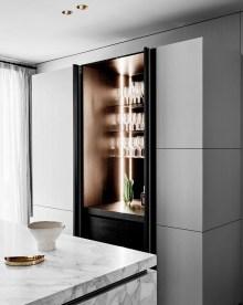 Gorgeous Minibar Designs Ideas For Your Kitchen41
